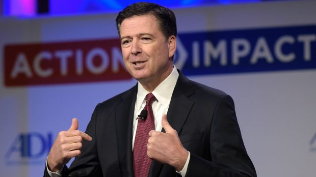 News had broken the US President had called former FBI director James Comey a