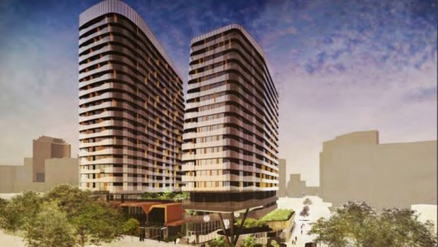 A multi-storey mixed use development has been approved at Cairns Street, Kangaroo Point