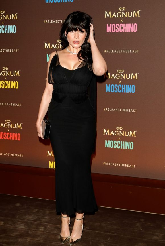 Daisy Lowe attends Magnum party.