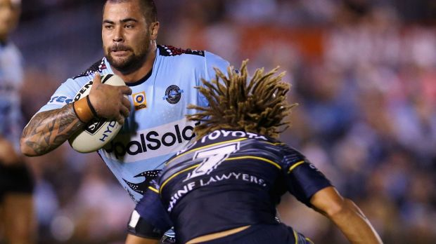 Game-breaker: Andrew Fifita is relishing another shot at the Maroons.