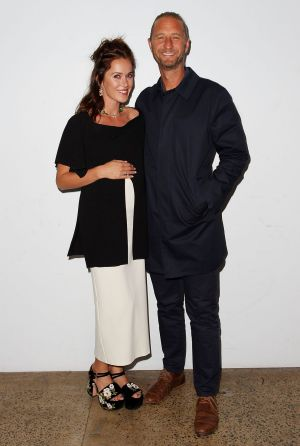 Kate Fowler and Justin Hemmes at the Ellery X Etihad Airways event at The Elston Room, Carriageworks on Wednesday, May 17.