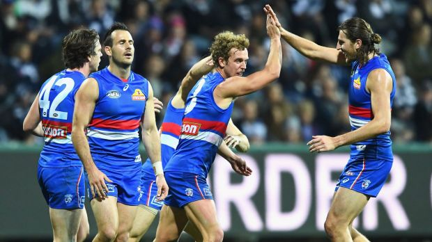 One bright point for the Bulldogs was the return of Mitch Wallis from a broken leg.