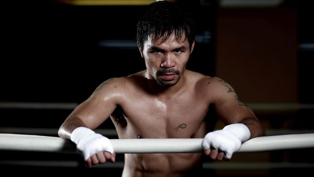 Controversial: Pacquiao's stance on homosexuality and the death penalty is concerning for many of his fans around the world.