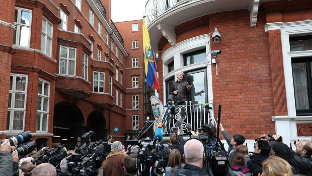 Sweden drops Assange case, but he's still wanted by London police