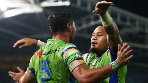 'Leipana' - Jordan Rapana and Joey Leilua - could go a long way to deciding whether the Raiders beat the Roosters.