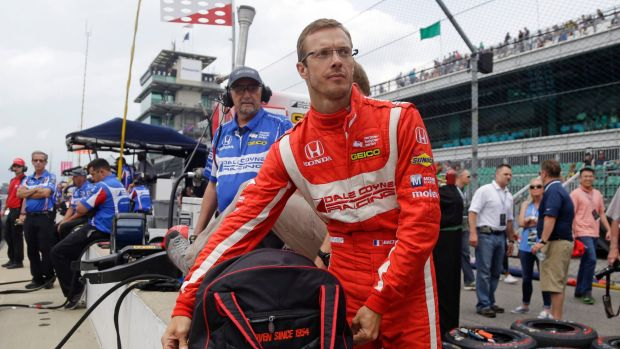 french driver sebastien bourdais has surgery after indy 500 crash. Black Bedroom Furniture Sets. Home Design Ideas