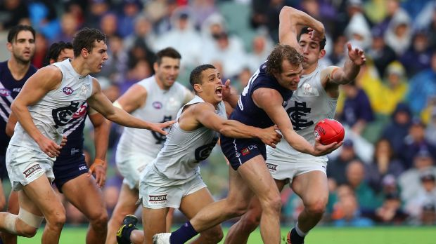 Carlton tested the Dockers early, but Fremantle proved they were up to the task.