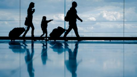 Young families may not travel as much, but frequent flyer points can be a big help when they do.