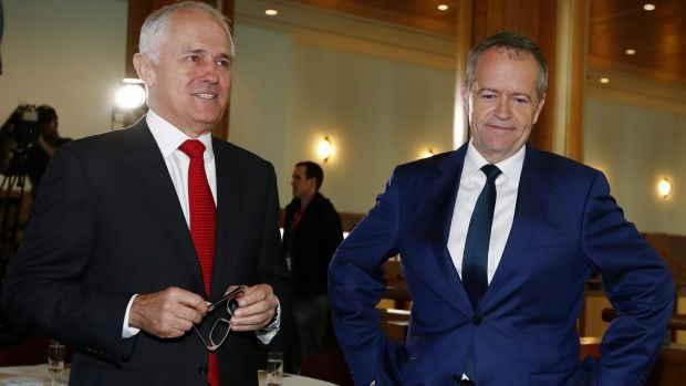 Could the major parties, currently led by Prime Minister Malcolm Turnbull and Opposition Leader Bill Shorten, decline to ...