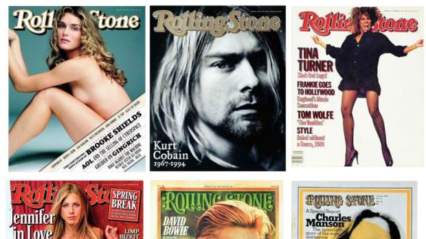 Rolling Stone covers are legendary.
