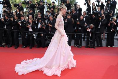 Coco Rocha attends 'The Meyerowitz Stories' screening during the 70th annual Cannes Film Festival.