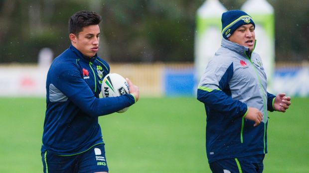 Joe Tapine is wary of an undermanned Roosters, while Josh Papalii hopes it's the start of something special.