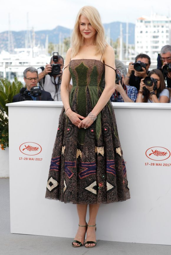 """Actress Nicole Kidman attends the """"The Killing Of A Sacred Deer"""" photocall."""