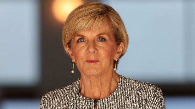 Foreign Minister Julie Bishop has called for calm