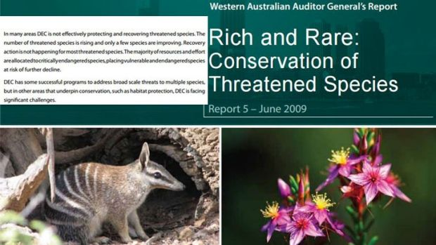 'Disappointing': WA's biodiversity is rapidly declining.
