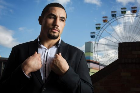 UFC fighter Robert Whittaker has turned his life around and has a shot at a UFC title.
