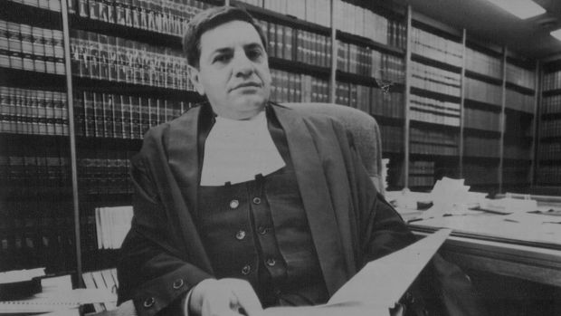 Judge Angelo Vasta, pictured in 1988.