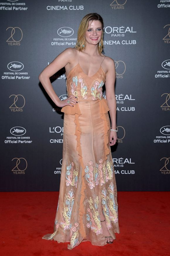 Mischa Barton attends the Gala 20th Birthday Of L'Oreal In Cannes.