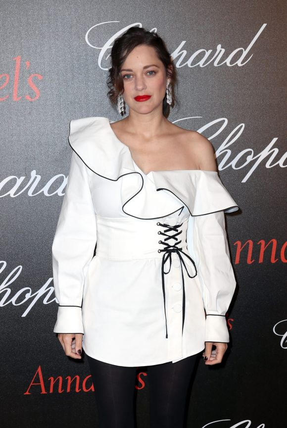 Marion Cotillard attends the Annabel's & Chopard Party.