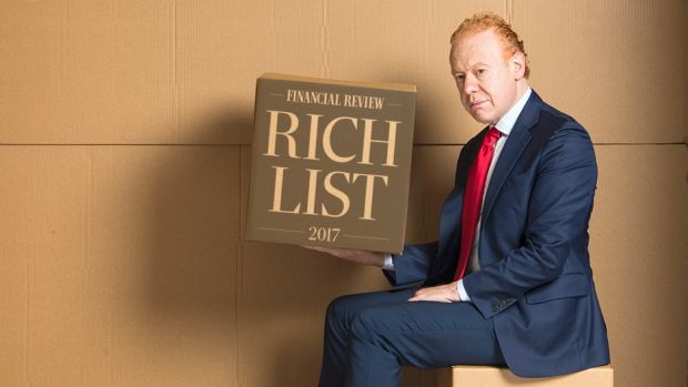 Anthony Pratt is one of three $10 billion-plus level Rich Listers in 2017.