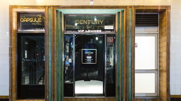 The Capsule Hotel has opened above Bar Century, which has undergone a significant makeover.