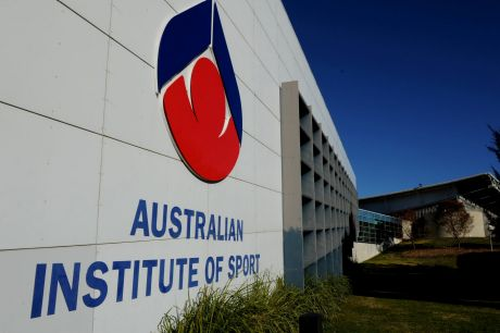 Under threat: The AIS centre in Canberra.