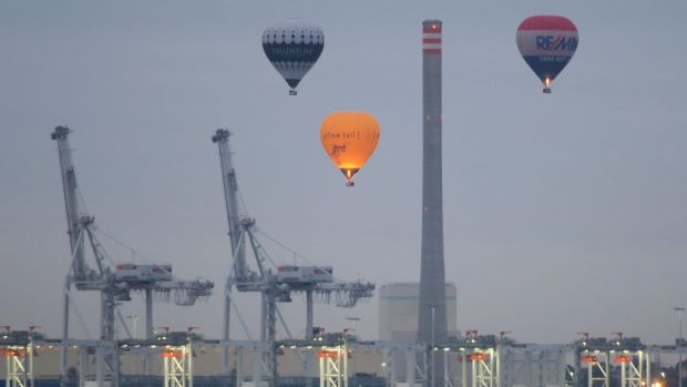 Balloons over Newport in Melbourne. Would you like your photo here? Send them to: ewoods@fairfaxmedia.com.au.