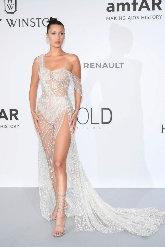 Bella Hadid has been labelled by many fashion experts as one of the best dress at amfAR charity gala. Embellished with ...