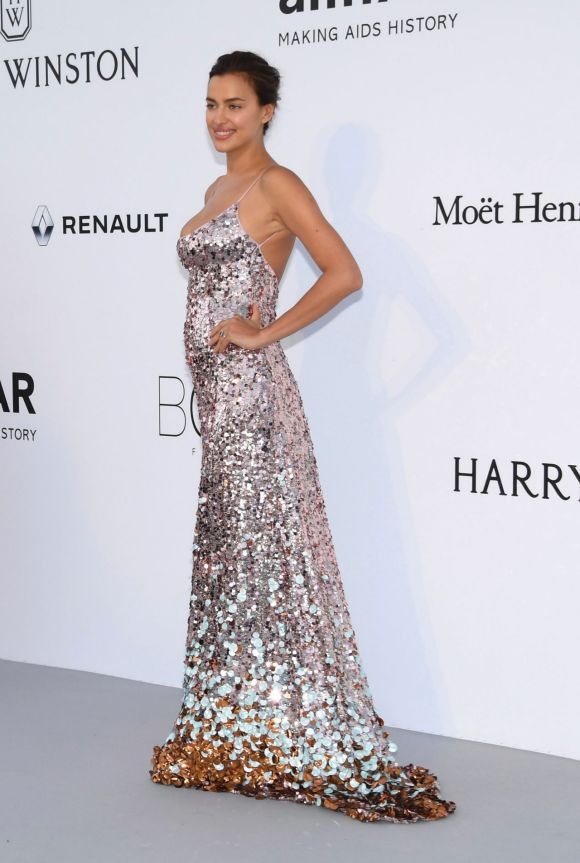 On the first red carpets since giving birth Irina Shayk has brought the glamour to Cannes. To the amFAR charity gala, ...