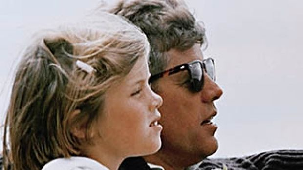 "President John F. Kennedy and his daughter, Caroline: ""Ask not ..."""