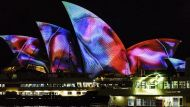 The brights lights of Vivid 2017 on the Sydney Opera House
