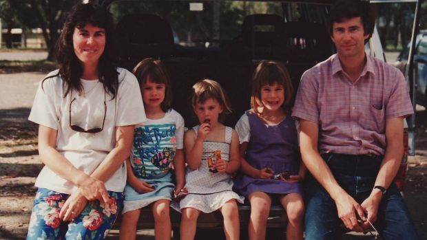 The Foster family - Chrissie, Katie, Aimee, Emma and Anthony.
