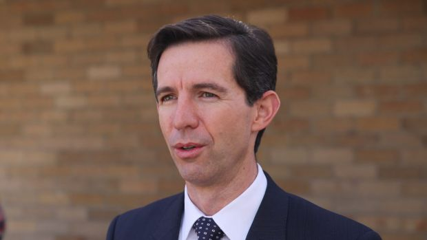 Education Minister Simon Birmingham is lobbying the Senate crossbench to support the government's school funding changes.