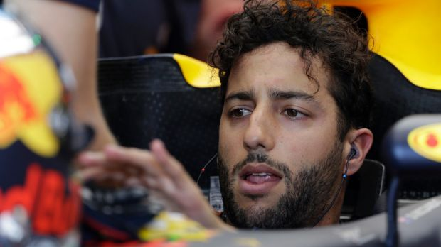Red Bull driver Daniel Ricciardo will start fifth on the grid.