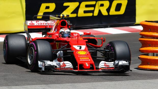 Ferrari driver Kimi Raikkonen of Finland has secured pole position.