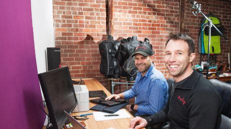 Henty founders, Jeremy Grey and Jon Gourlay believe they have a unique product.