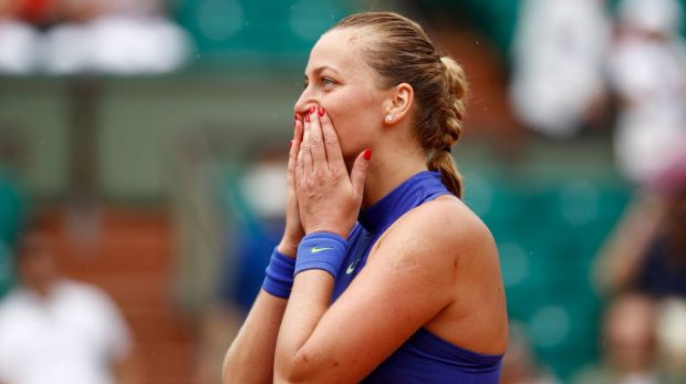 Petra Kvitova wins comeback match at French Open after horrific knife attack