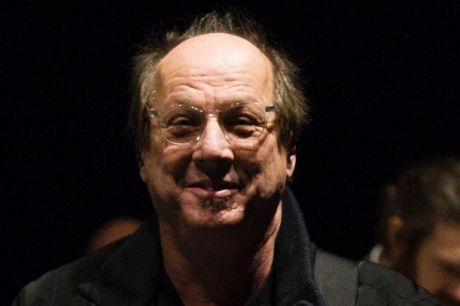 Adrian Belew during rehearsals for a special concert celebrating David Bowie in London   on January 8 (on what would ...