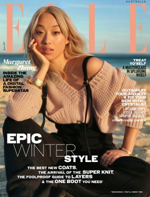 The new Elle cover shot on an iPhone.