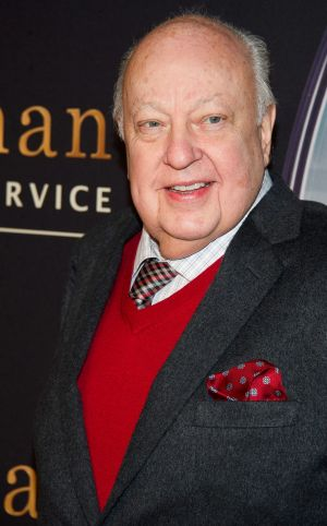 Fox News chief Roger Ailes in 2015.
