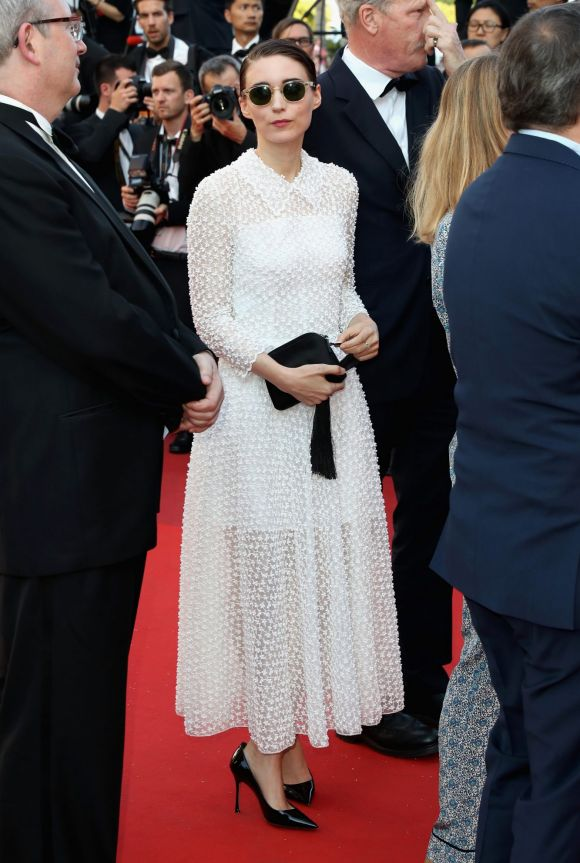 Actress Rooney Mara attends the Closing Ceremony during the 70th annual Cannes Film Festival.
