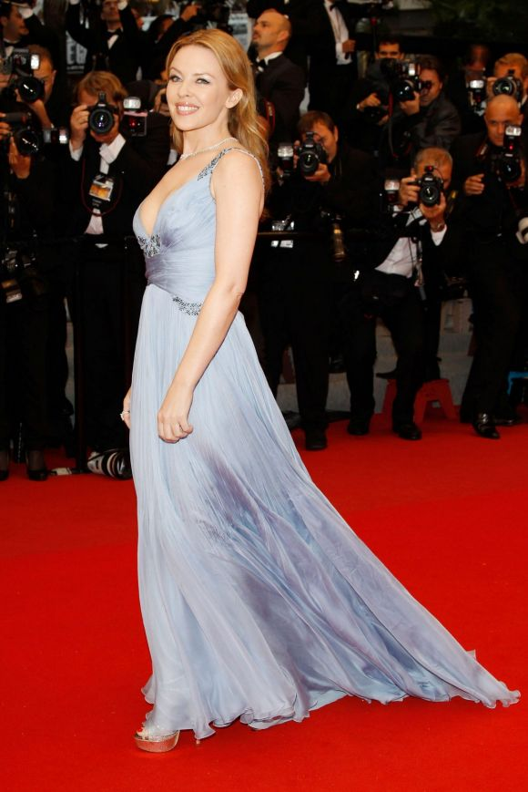 """Kylie Minogue attends the Closing Ceremony and """"Therese Desqueyroux"""" premiere."""