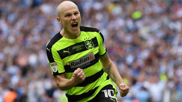 Aaron Mooy helped Huddersfield Town into the EPL.