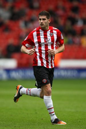 Ched Evans at Sheffield United in 2013.
