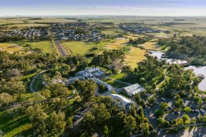 A portion of the vast Eynesbury estate near Werribee in Melbourne's west, once owned by the Ballieu family, has been put ...