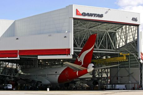 A fourth terminal at the airport will be built on what is now the Qantas jet base.