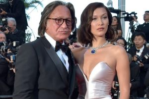 """Mohamed Hadid and Bella Hadid attend the """"Ismael's Ghosts (Les Fantomes d'Ismael)"""" screening and Opening Gala during the ..."""