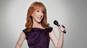 Kathy Griffin's latest gag has drawn criticism from progressives as well as conservatives.