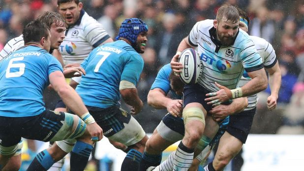 Scotland makes 8 changes for rugby test against Australia