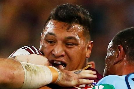 Josh Papalii has a huge role to play for Queensland in game two.